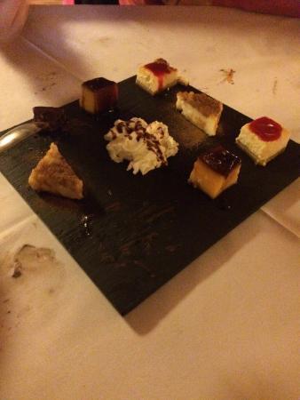 Restaurante El Cortijo Pizzeria y Braseria: Degustación de postres