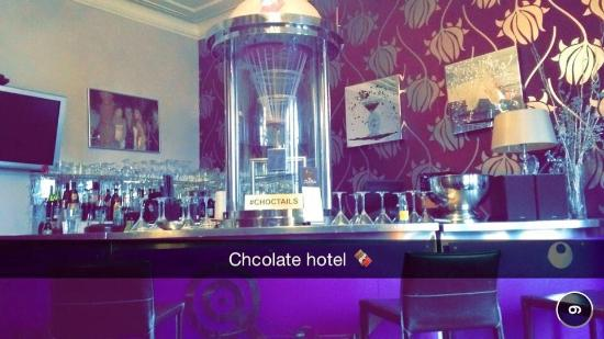 Choctail Bar Picture Of The Chocolate Boutique Hotel Bournemouth Tripadvisor