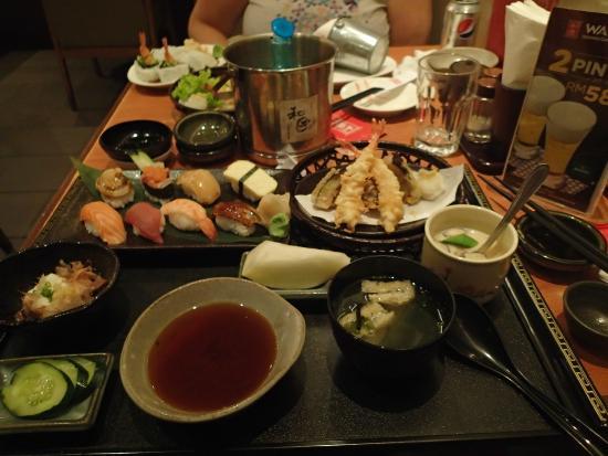 Watami: Set Menu plus some extras