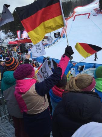 Garmisch-Classic : FIS Ski World Cup was sooooo high😆 only 10 euro for students under 27 bravoooooo