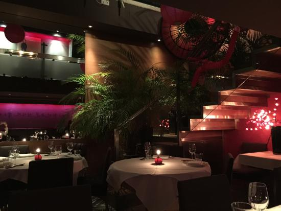 Interior picture of naga restaurant bar london