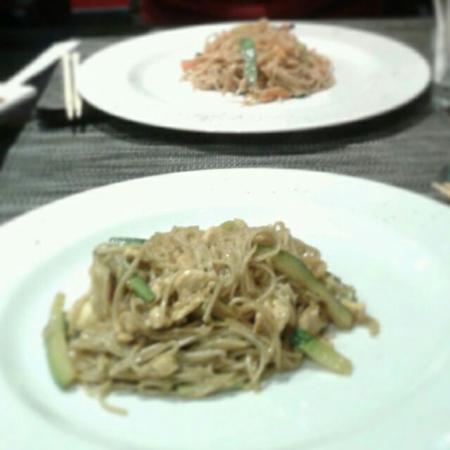 Koori sushi : Spaghetti al grano saraceno