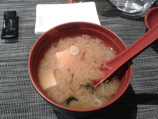 Koori sushi : Zuppa di miso