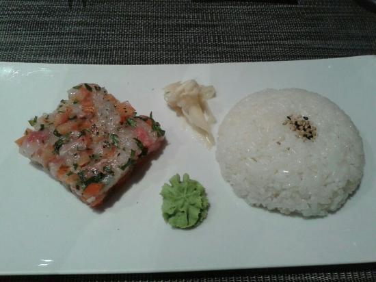 Koori sushi : Tartare di branzino