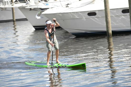Flying Fish Paddle Sports: Paddle boarding is a great way to stay in shape while on vacation