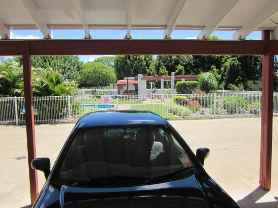 Bundaberg Spanish Motor Inn: Close to the pool