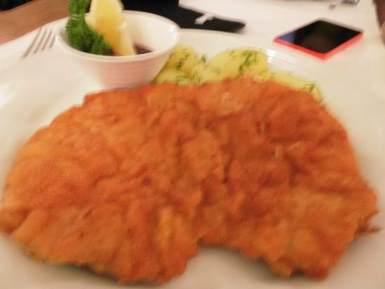 Restaurant Romantika: Viener schnitzel