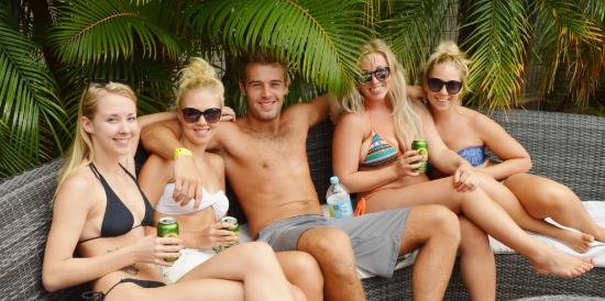 Budds in Surfers: Pool Area