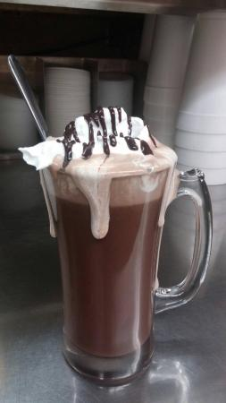 Owosso, MI: Hot Chocolate