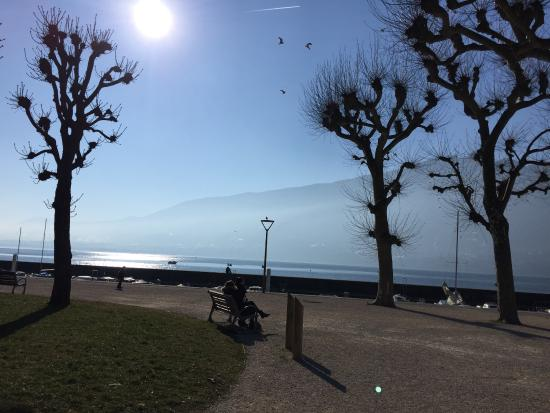 Aix-les-Bains, Frankrijk: Lac