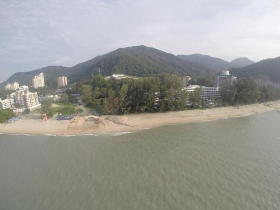 East Wind Watersports : Hard Rock Hotel from above