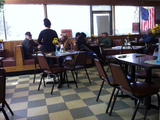 Algonac, MI: Back of Restaurant