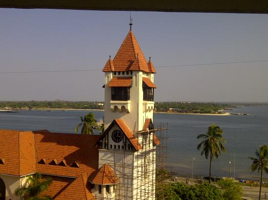 New Africa Hotel: View from the rooms