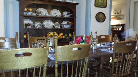 Camden, AL: One of many dining rooms