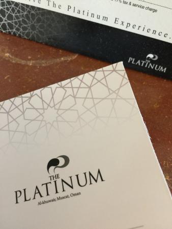 The Platinum : Key