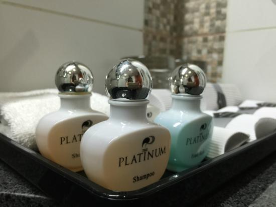 The Platinum : Toiletries