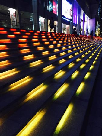 Wisma Atria Shopping Centre: Steps in the night !