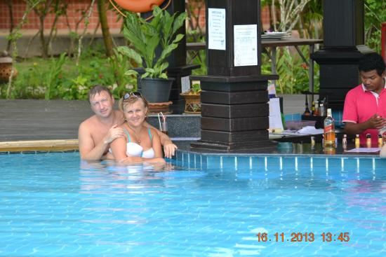 Khaolak Orchid Beach Resort: бар