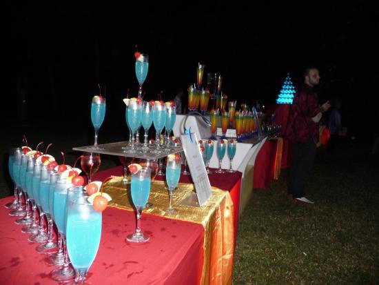 Club Med Cherating Beach: New year cocktalis
