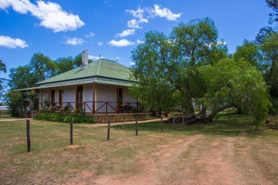 Carnarvon Dale: The lodge