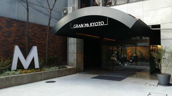 Hotel Gran Ms Kyoto Entrance