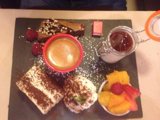 l'Assiette Gourmande : Café gourmand