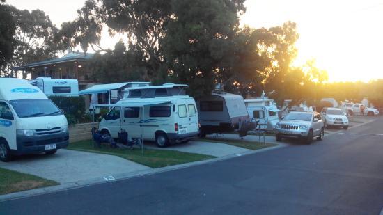 Melbourne BIG4 Holiday Park: Powered site