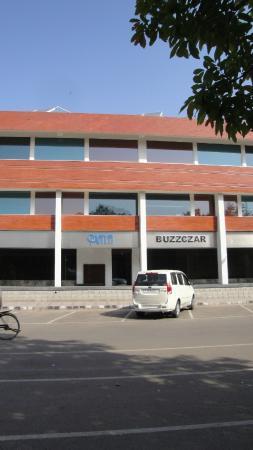 Façade of Maya Hotel Chandigarh