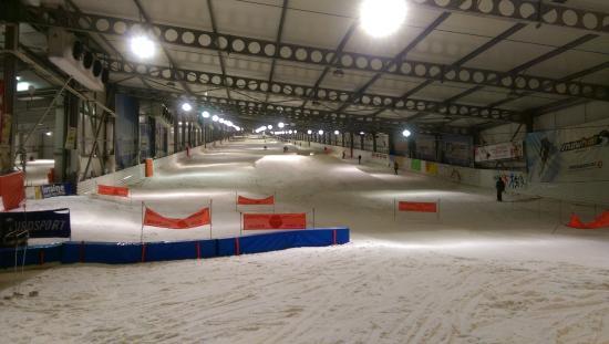 Snowhall: au pied de la piste