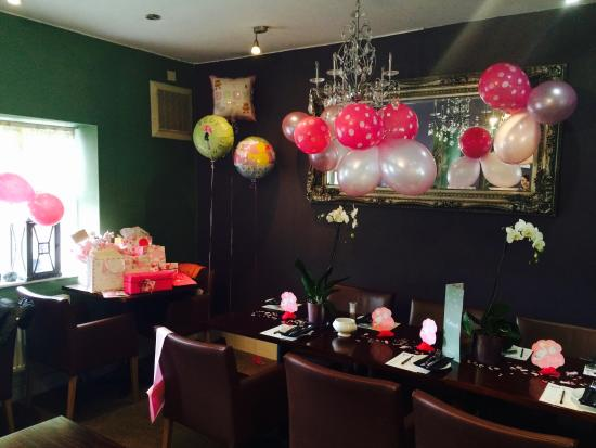 Lakeside Cafe: Baby Shower