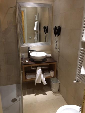 Hotel Campo Marzio : Camera singola: bagno