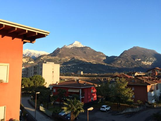 Hotel Virgilio: The view from my hotel room balcony