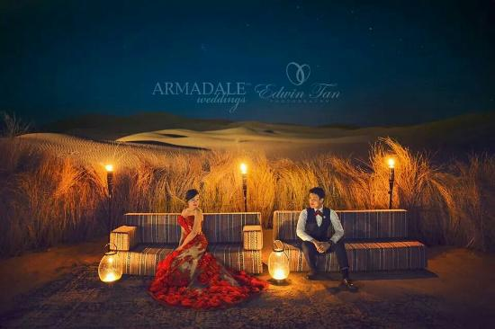 Qasr Al Sarab Desert Resort By Anantara Shooting Prewedding
