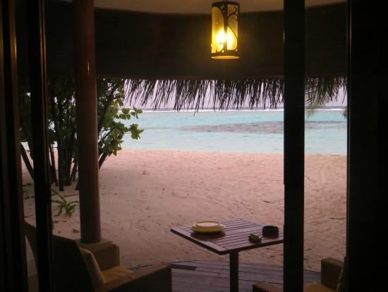 Kanuhura - Maldives: Si fa sera