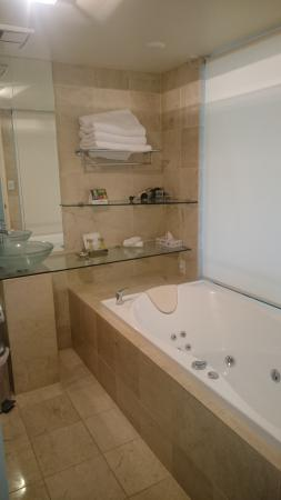 Quality Hotel Gateway : Very modern bathroom