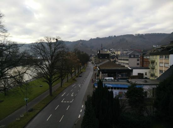 Hotel Villa Vinum Cochem: uitzicht vanuit suite