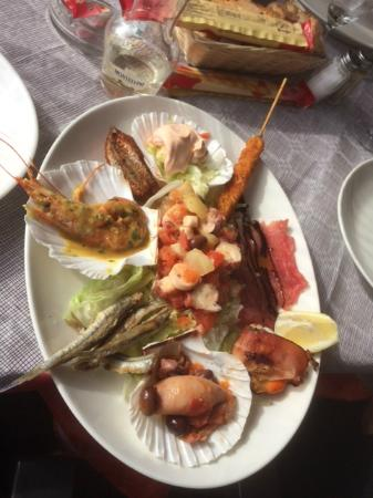 Emy Cuisine | Antipasti Del Mare Picture Of Emy Bar San Lorenzo Al Mare
