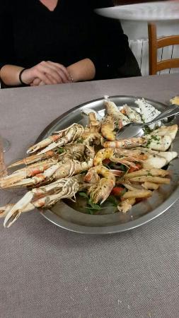 Albergo Trattoria Alle Castrette Restaurant : Grigliata