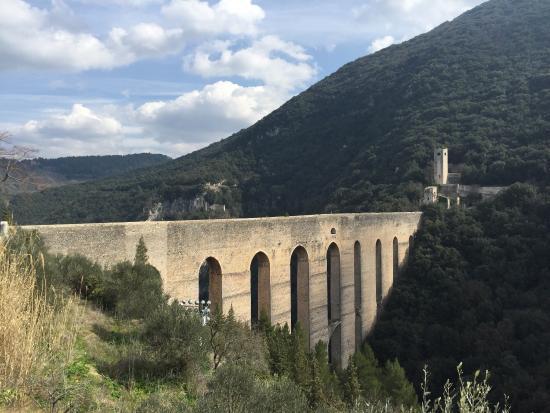 Spoleto, Italië: Laterale