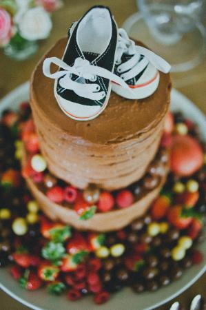 Bistro 98: Christening cake