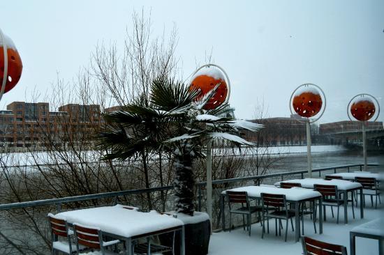 Stayokay Maastricht: deck