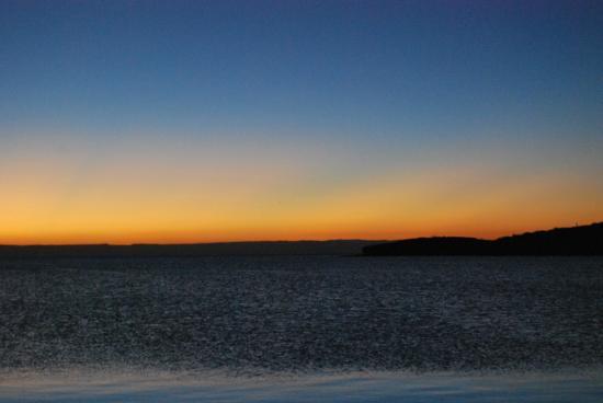 Playa Pichilingue (Pichilingue Beach): Un tramonto da sogno!