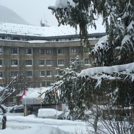 Hotel Tuc Blanc: Retour ski ...