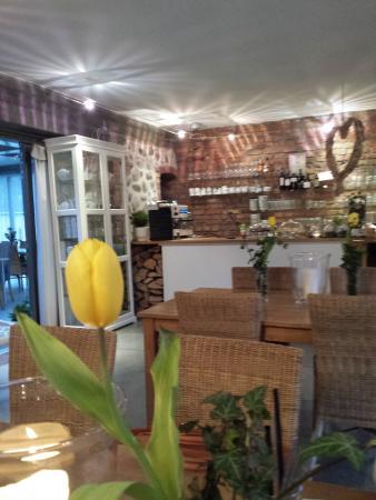 Agroturystyka Rozmaitości Restauracja: Inside the restaurant
