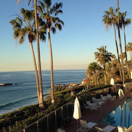 The Inn At Laguna Beach : View from balcony