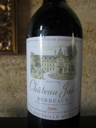 ‪‪Chateau Julie‬: wine of the chateau‬