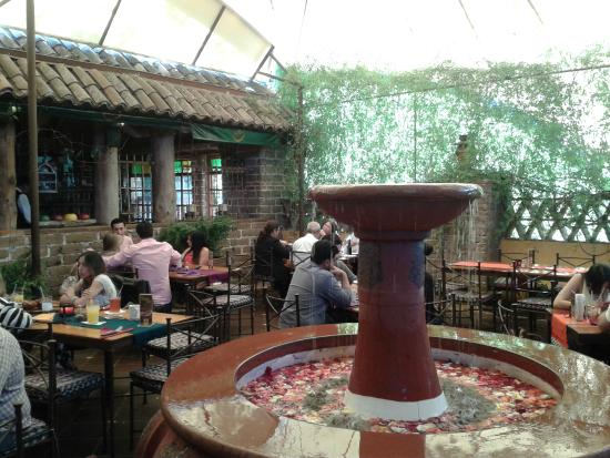 Hacienda Real : Terraza