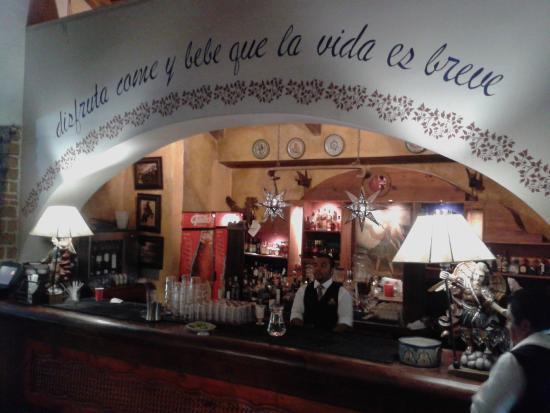 Hacienda Real : El bar