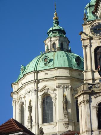 PragueSeeing: LE DOME DE L'EGLISE SAINT NICOLAS
