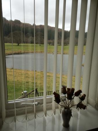 Dolanog, UK: View from family suite